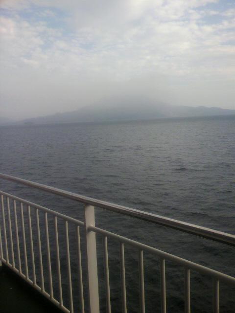 鹿児島が見えてきた!