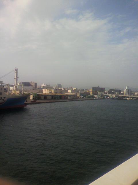 鹿児島入港!