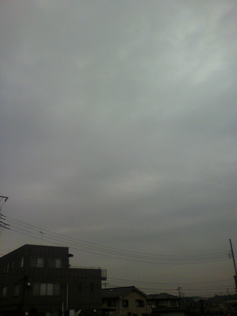 どんより雲