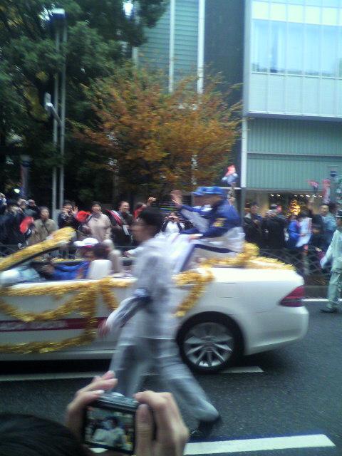 パレード終了