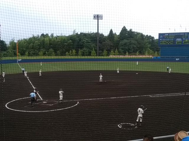 久しぶりに高校野球